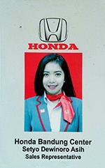 sales-honda-bandung